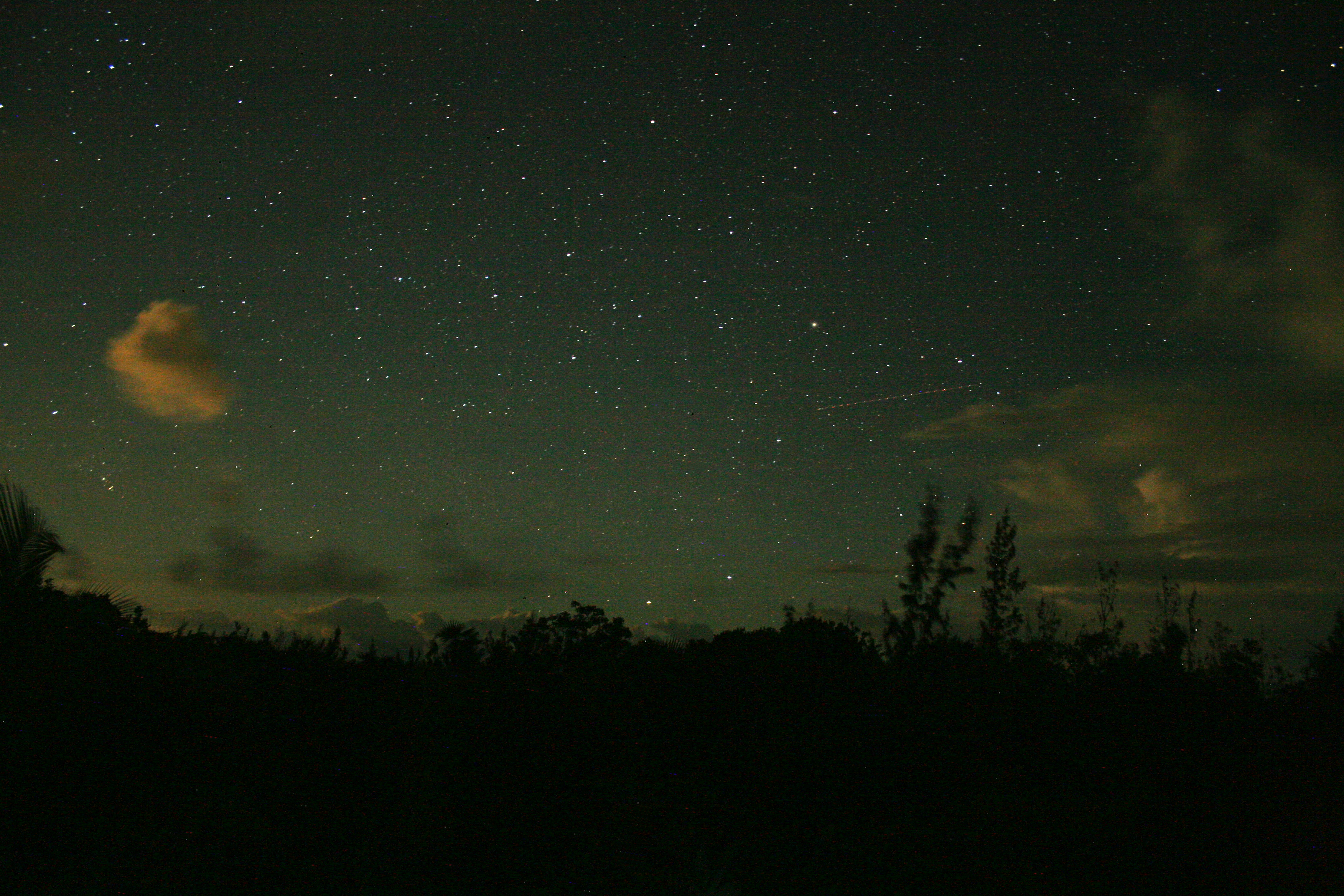 The Whitby Night Sky